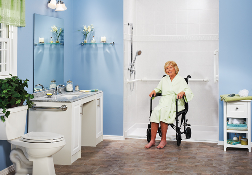 Incroyable Wheelchair Accessible Bathroom