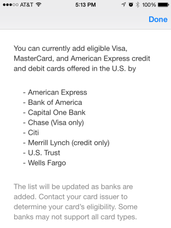 Apple Pay Bank