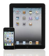 picture of ipad and iphone