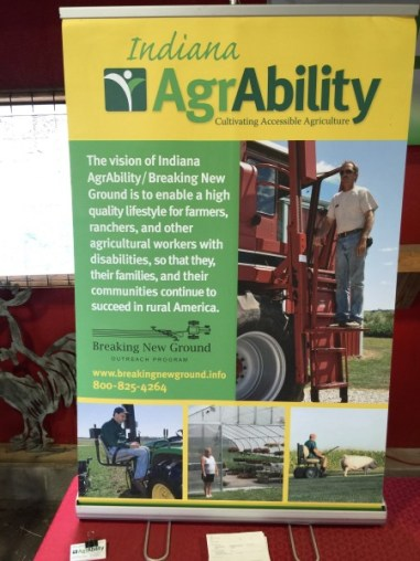 Indiana AgrAbility pull-up banner