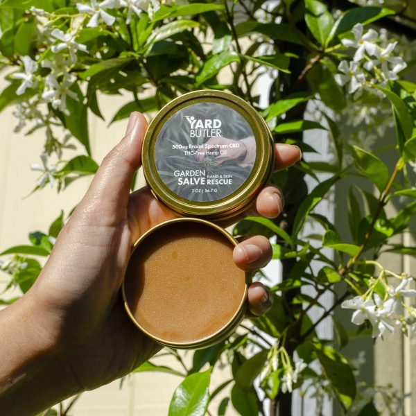 Yard Butler Garden Salve Hemp CBD Topical
