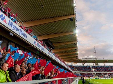 Östers IF - IFK Värnamo 1-1, Superettan 2012