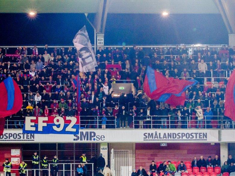 Östers IF - Landskrona BoIS 0-1, Superettan 2012