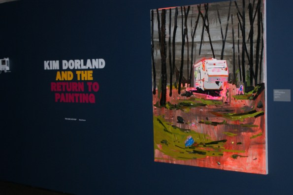 Bringing the edge back to the Group of Seven -You Are Here: Kim Dorland and the Return to Painting runs until Jan 4