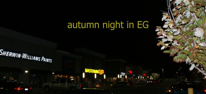 autumn night East Gwillimbury