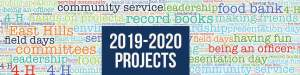 2019-2020 East Hills Projects