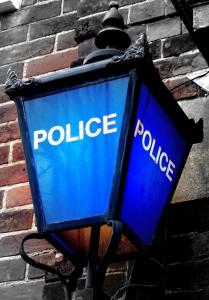 Eastleigh Police Station Lantern