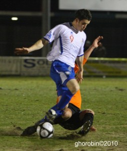 Gillespie scored in the first half