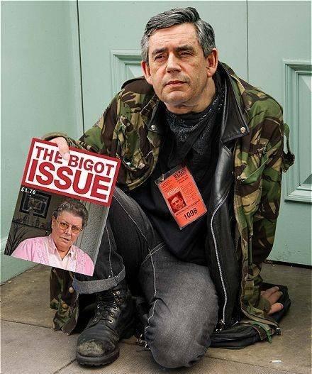 Gordon Brown, Bigot Issue,