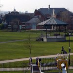 Eastleigh Bandstand,leigh road, eastleigh