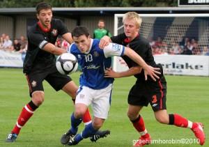 Southampton FC v Eastleigh FC 2010