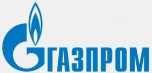 gazprom logo in russian