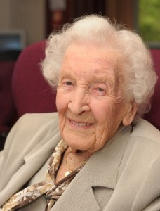 105 year old Edna Small