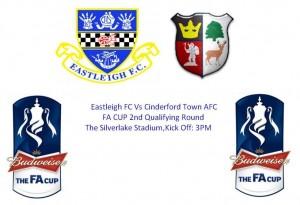 Eastleigh FC Vs Cinderford Town AFC 11