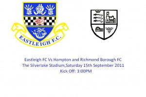 Eastleigh FC Vs Hampton and Richmond Borough FC 1