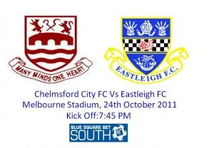 Chelmsford City FC Vs Eastleigh FC