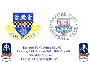 Eastleigh FC Vs Oxford City FC