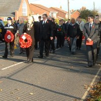 Solemn Remembrance in Hedge End