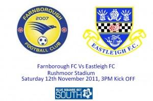 Farnborough FC Vs Eastleigh FC2