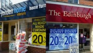 EWM and Ponden Home, Market Street Eastleigh