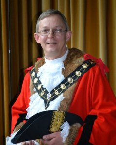 The Worshipful the Mayor of the Borough of Eastleigh, Cllr Rupert Kyrle