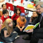 Chris Huhne has opposed cuts to Library services