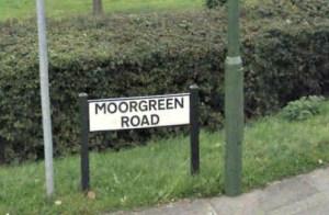 Moorgreen Road