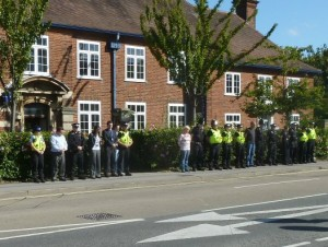 Eastleigh Police tribute