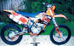 Stolen Eastleigh moto cross bike