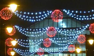 Eastleigh Christmas lights