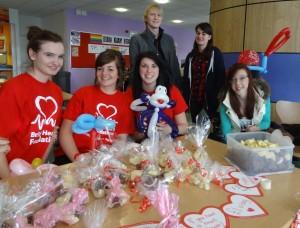 British Heart Foundation Valentine chocolate sale_Barton Peveril