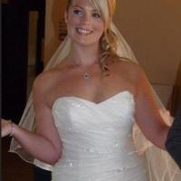 Tragic bride's memorial fund nears target