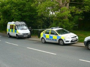 Scene this morning on Twyford Rd