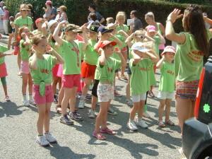 Jamz children at Hedge End Carnival 2013