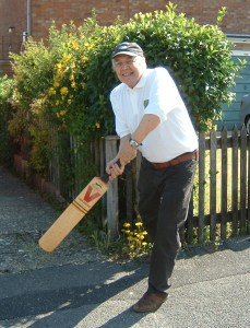 Ray Hall, Batting for the Beer Baccy & Crumpet Party...