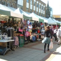 Businesses provide services and advice at Eastleigh Market
