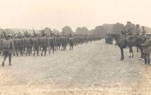 Lord Kitchener Reviewing troops