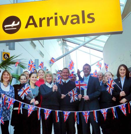 Southampton Airport celebrations