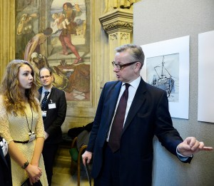 Emily Singleton discusses her work with Education Minister Michael Gove