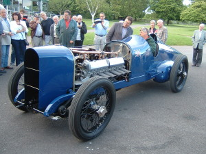 Sir Malcolm Campbell's 350HP Sunbeam, the first car to exceed 150mph, runs again...