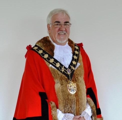 Cllr Tony Noyce is Eastleigh's new mayor
