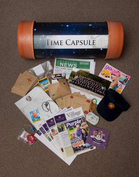 Items included Eastleigh Borough News! Pic: Chris Balcombe