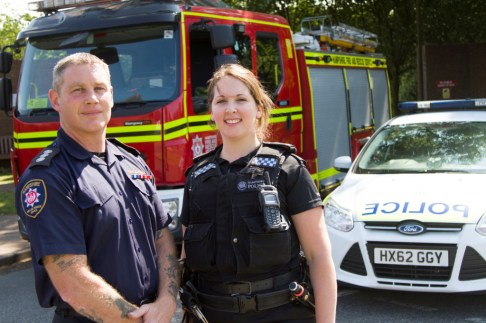 Partners - Firefighters and Police Officers