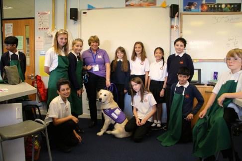 Thornden School with Heskey