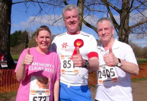L-R Mims Davies (Conservative),Mark Latham (Labour),Mike Thornton (Labour)