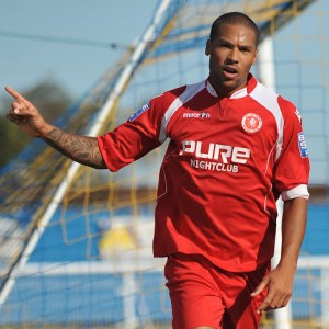 Striker Ross Lafayette signs for the club