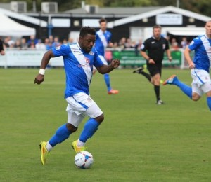 Yemi Odubade netted a last minute equaliser on Tuesday (photo by Tony Smith)