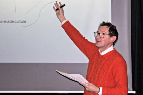 Professor John Holden. Pic Courtesy: Culture unit, Eastleigh Borough Council