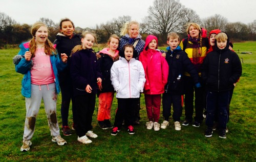 Kylie with Young Carers on a residential break