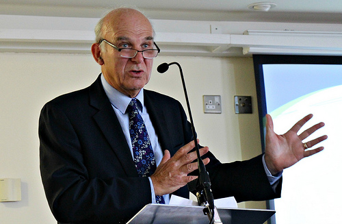Vince Cable pic:Eastleigh News
